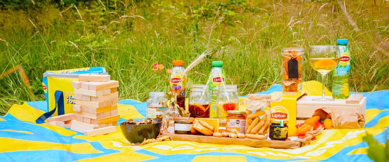 Lipton Ice Tea verzorgt vandaag gratis picknicks via Uber Eats in Amsterdam