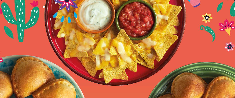 Los Taqueros: Smakelijke empanadas en nacho's uit de oven
