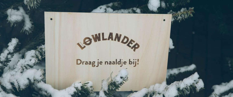Botanisch bierbrouwer Lowlander heeft een winterbier gemaakt van dennebomen