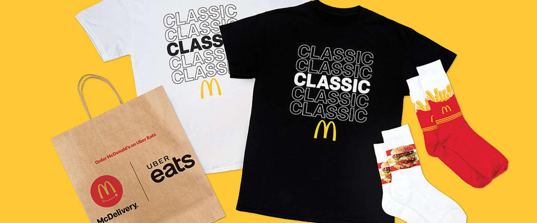 Go McDonald's: hamburgersokken!