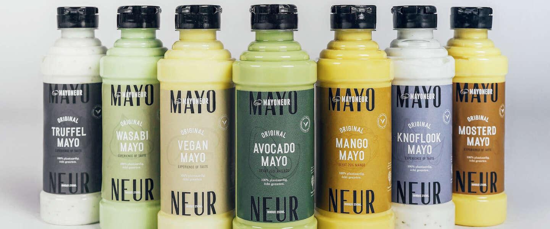 De plantaardige mayo's van Mayoneur tillen mayo naar een nieuw niveau