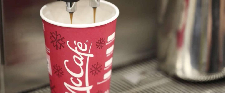 McDonald's gaat in de lucht koffie serveren