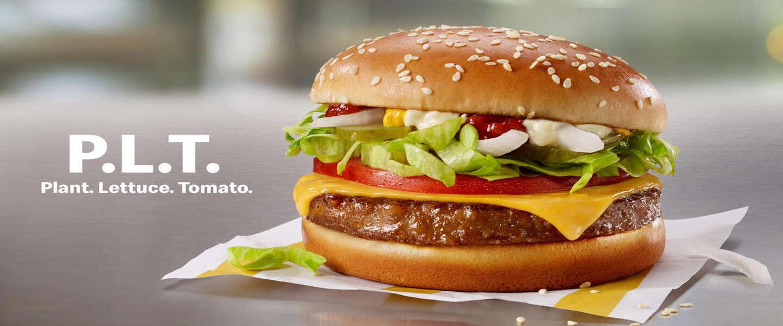 McDonald's introduceert eigen plantaardige burgers onder de naam McPlant