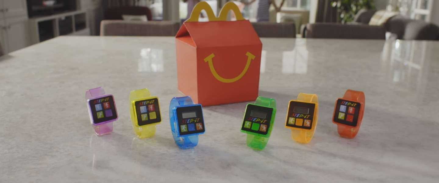 McDonald's stopt fitness bandje voor kids in Happy Meal