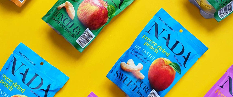 NADA maakt fruitsnacks van 100% puur gevriesdroogd fruit