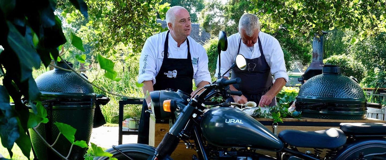 Sterrenchefs laten zien wat ze kunnen op de Big Green Egg in tv-serie Bon Chef!