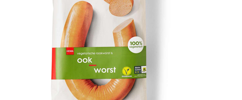 OokWorst, de Hema heeft nu ook vegetarische rookworst
