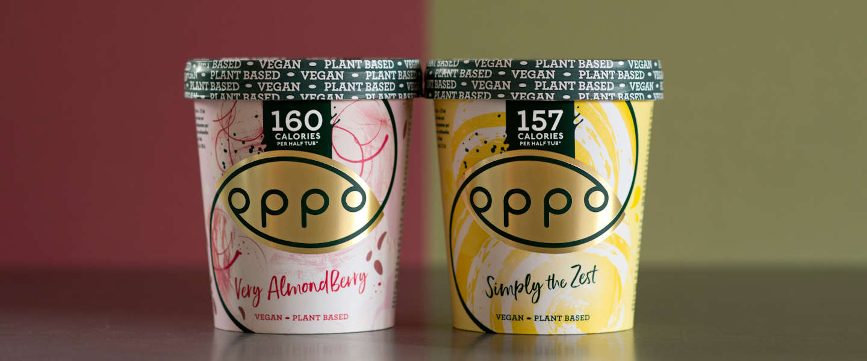 Oppo Brothers introduceert twee nieuwe smaken vegan ijs
