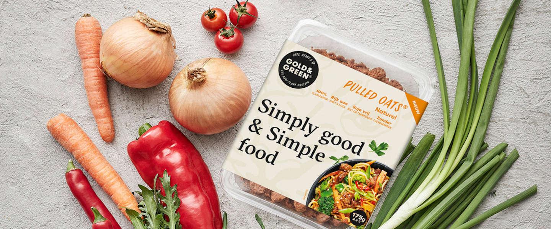 Plantaardig innovatief product Pulled Oats is ideale vleesvervanger
