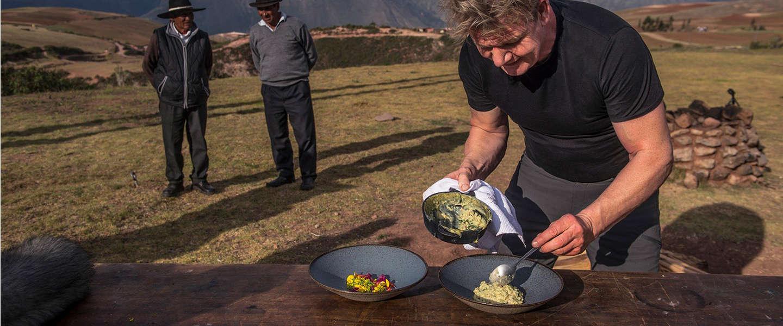Gordon Ramsay heeft nieuw avontuurlijk kookprogramma