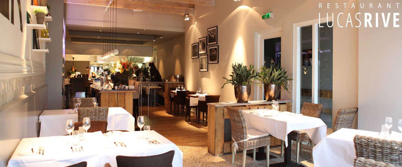 Vrienden Lucas Rive nemen afwisselend met gastmenu restaurant over