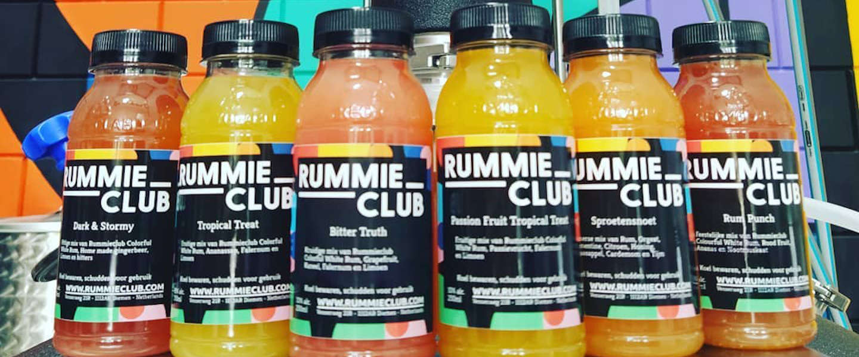 Rummieclub cocktailservice: veel rum, weinig rummikub