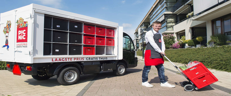 Rotterdammers bestellen vanaf nu melk uit eigen stad via Picnic
