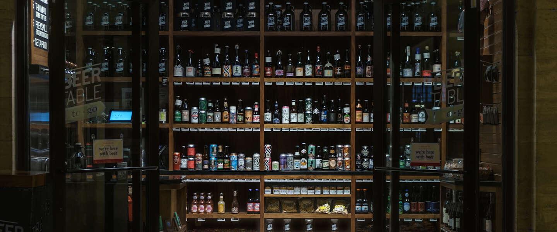 Nieuwe alcoholwet zorgde eind juni voor het hamsteren van alcohol
