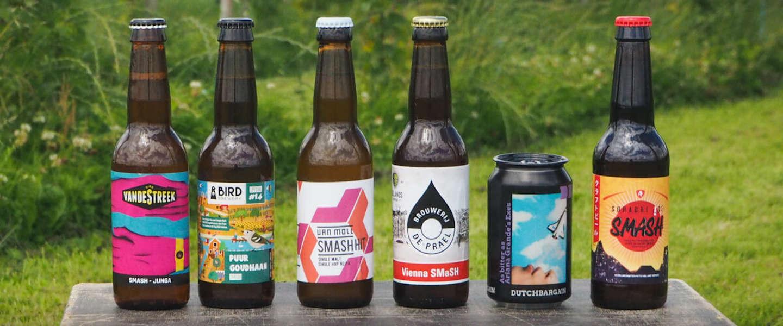 Zes unieke bieren van zes brouwers met hop in de hoofdrol