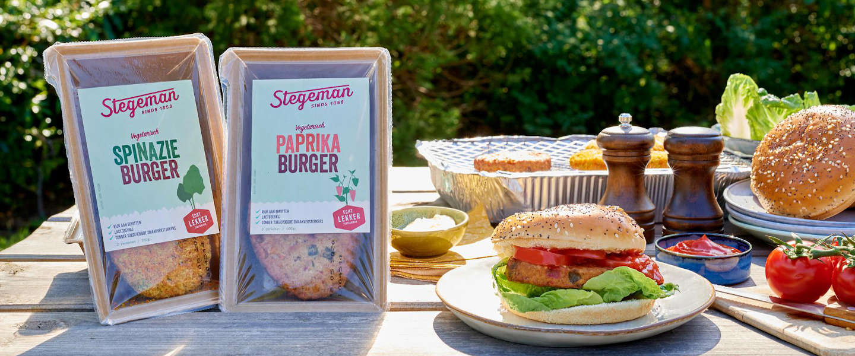 Stegeman brengt vegetarische burgers en broodbeleg op de markt