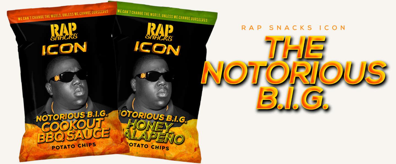 Hiphopicoon Notorious B.I.G. heeft eigen chips