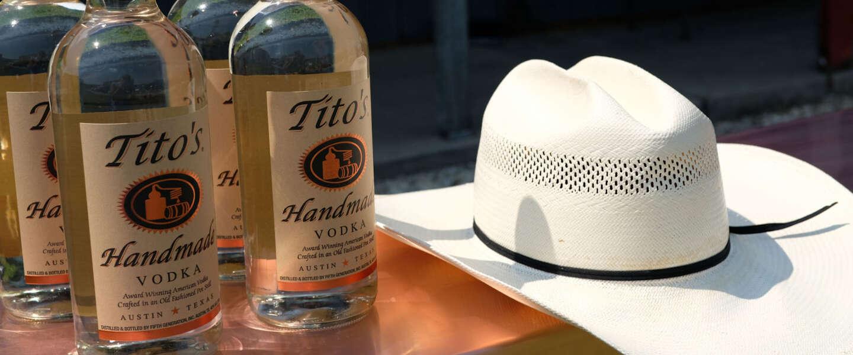 Tito's Handmade Vodka is een heerlijke, soepele wodka