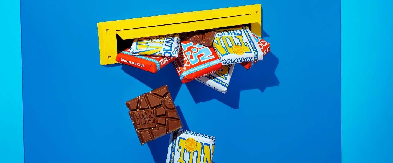 Je kan vanaf nu bij Tony's Chocolonely een maandelijks choco-abo afsluiten