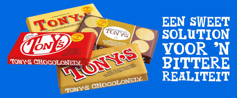 Tony's Chocolonely lanceert lookalike-repen om misstanden aan te kaarten