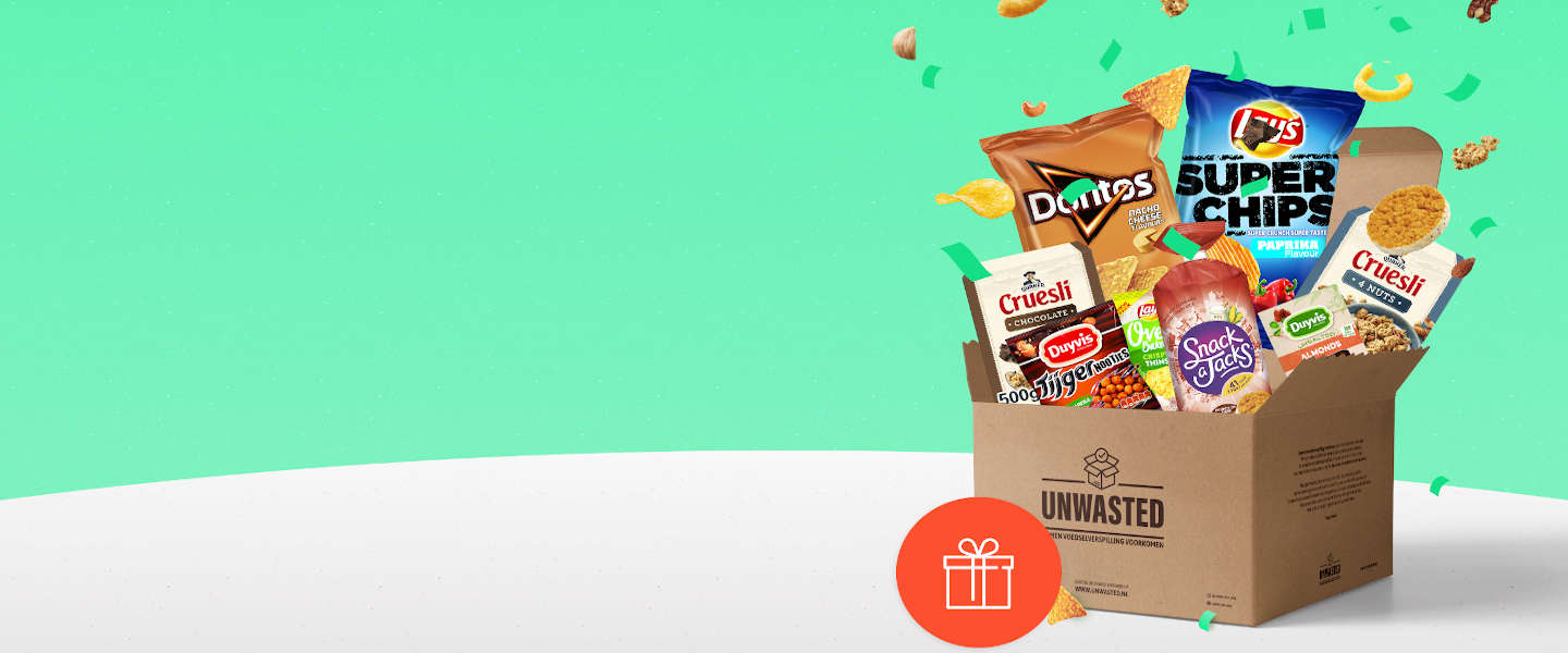 Eatly unboxt een Unwasted-box
