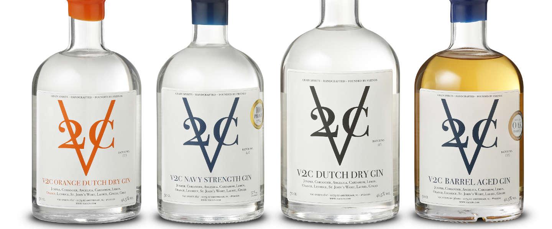 V2C Gin heeft een klassieke Dutch Dry Gin gedistilleerd