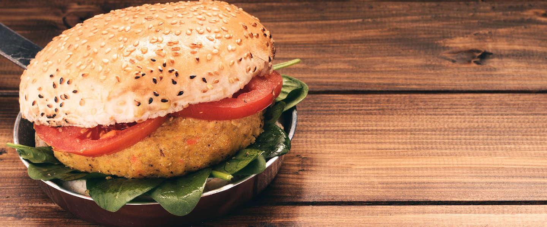 Veel verschil in smaak en kwaliteit van vegetarische hamburgers