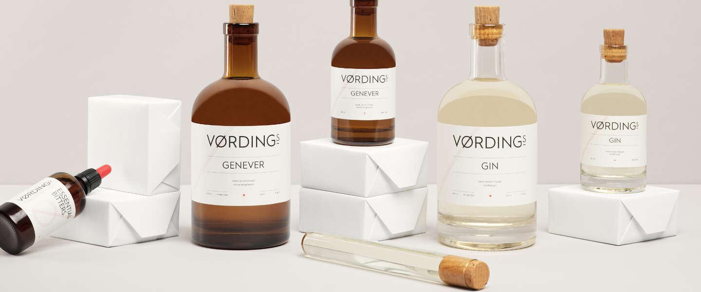 Vørding distilleert Nederlandse gin en jenever met cederhout