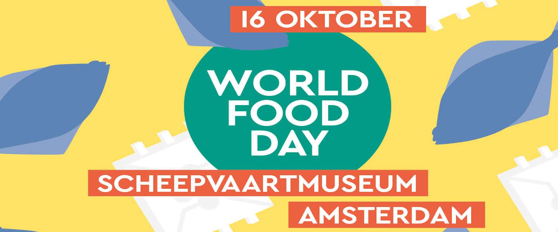 World Food Day 2019: 500 mensen aan tafel tegen honger in het Scheepsvaartmuseum