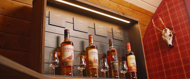 The Famous Grouse laat je overnachten in een whiskyvat