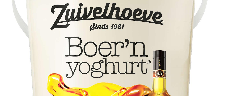 Limited edition Boer'n yoghurt geïnspireerd op Licor 43 weer te koop