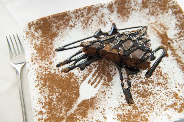 3D geprinte choco taart