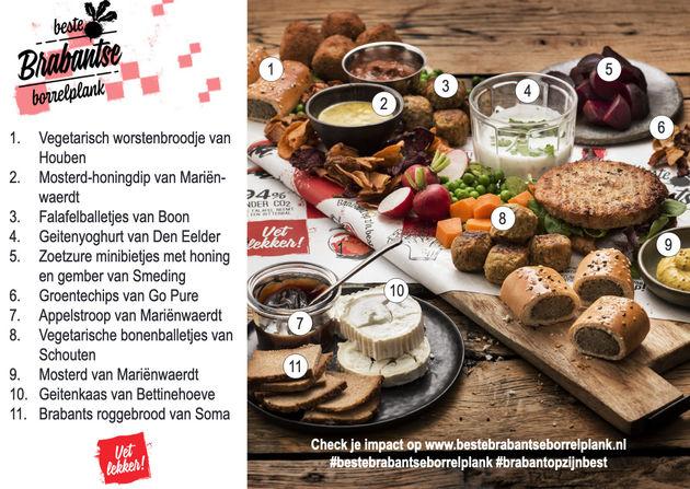 Beste Brabantse Borrelplank