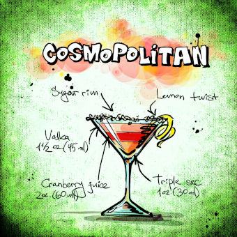 Cosmopolitan -cartoon