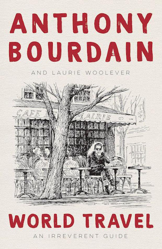 Cover nieuwe boek Anthony Bourdain