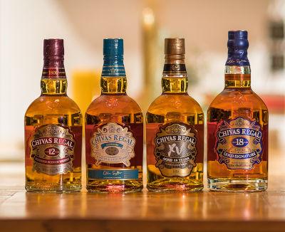 De whisky line-up_