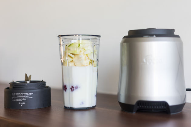Frambozen smoothie Solis blender pro