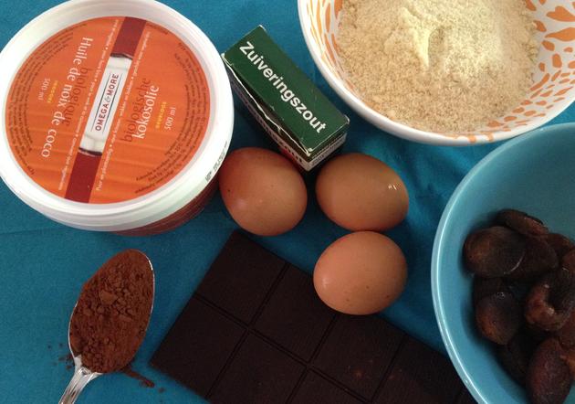 gezonde-chocoladecake-ingredienten