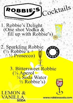 Robbie's cocktails