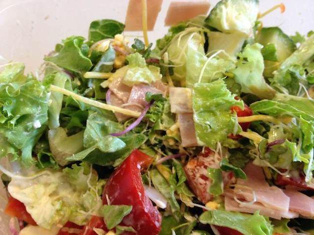 salade-met-ham