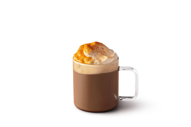 Toasted Marshmallow Hot Chocolate Glass