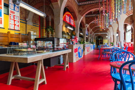Tony's Chocolonely Chocolate Bar interieur