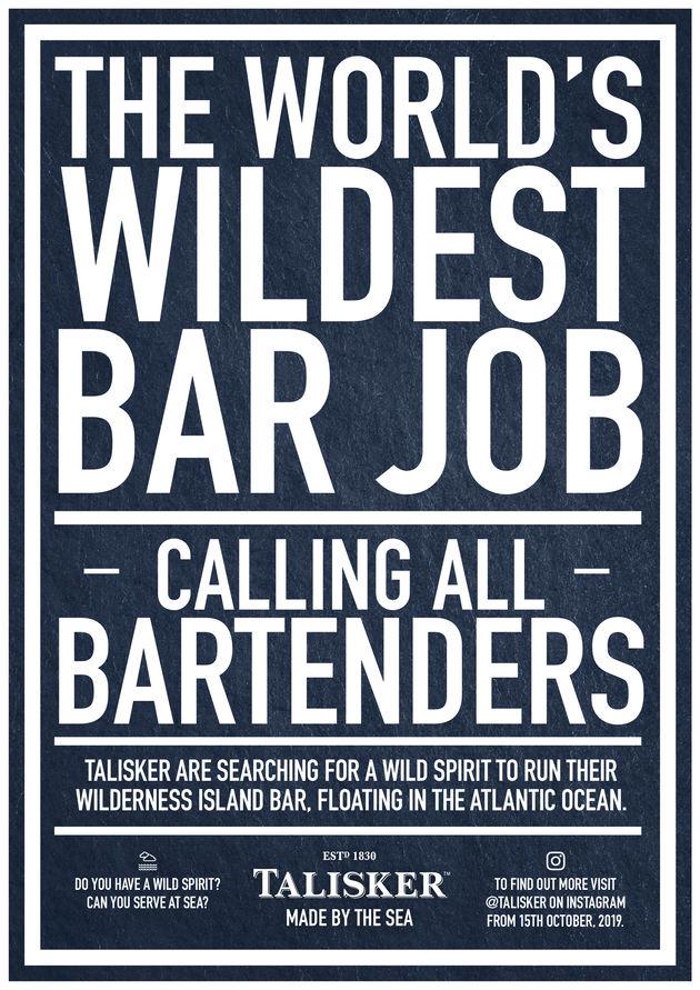 Wildest Bar Job_advert