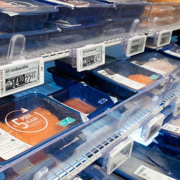 Albert Heijn digitaliseert prijskaartjes in winkels