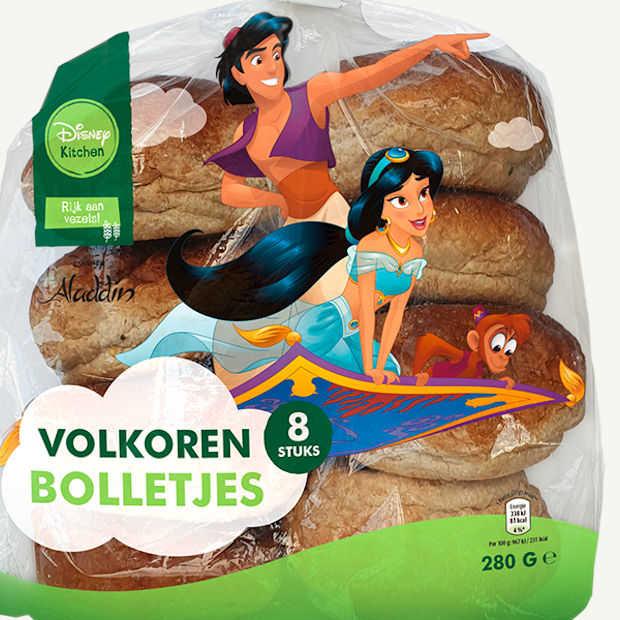 Disney-personages sieren op gezonde voeding bij Aldi