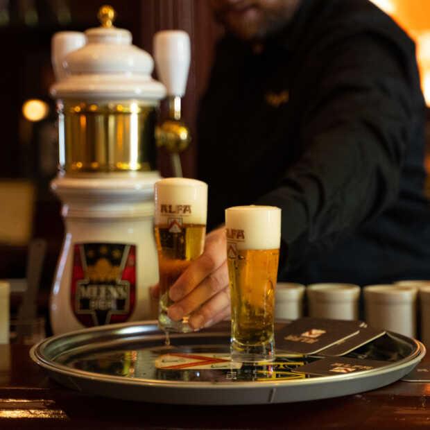 Alfa brouwerij opent vernieuwd proeflokaal 1870
