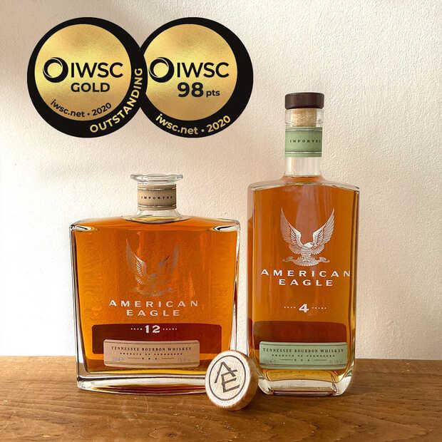 De bourbons van American Eagle zijn bijzonder zacht en romig