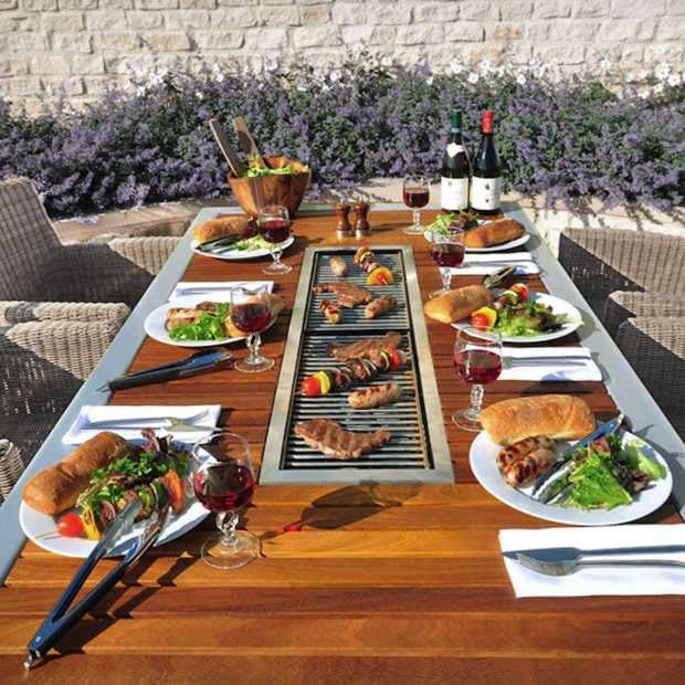 Angara Maximus: stoere tuintafel en barbecue in één