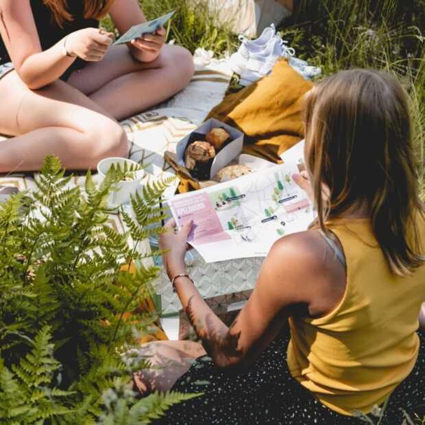 Met de picknickbox van Anne&Max picknick je op de leukste plekken in de stad