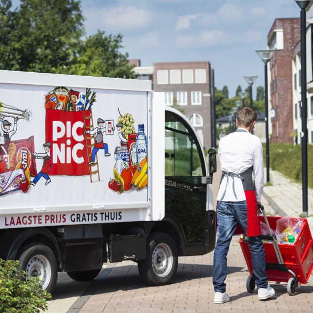 Picnic is online goedkoper dan AH en Jumbo